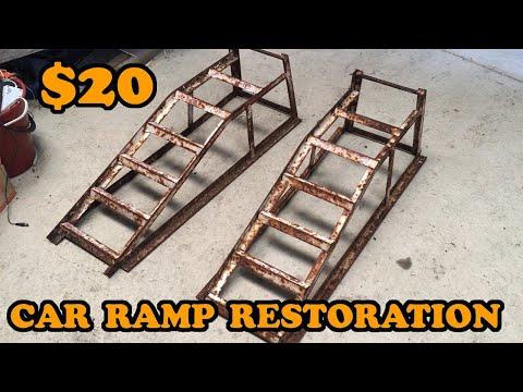 $20 Car Ramps Restoration