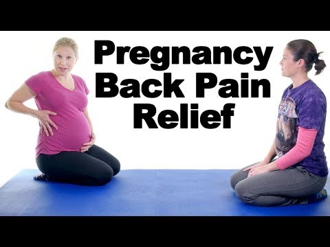 5 Best Pregnancy Lower Back Pain Relief Exercises Ask Doctor Jo