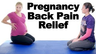 5 Best Pregnancy Lower Back Pain Relief Exercises - Ask Doctor Jo