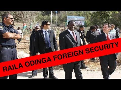 Raila Odinga's top notch Security escort in Mombasa| KENYA