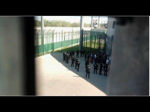 TOULOUSE intervention ERIS aprés un refus de réintégrer des détenus