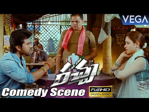 Racha Movie Comedy Scenes || Ram Charan,...