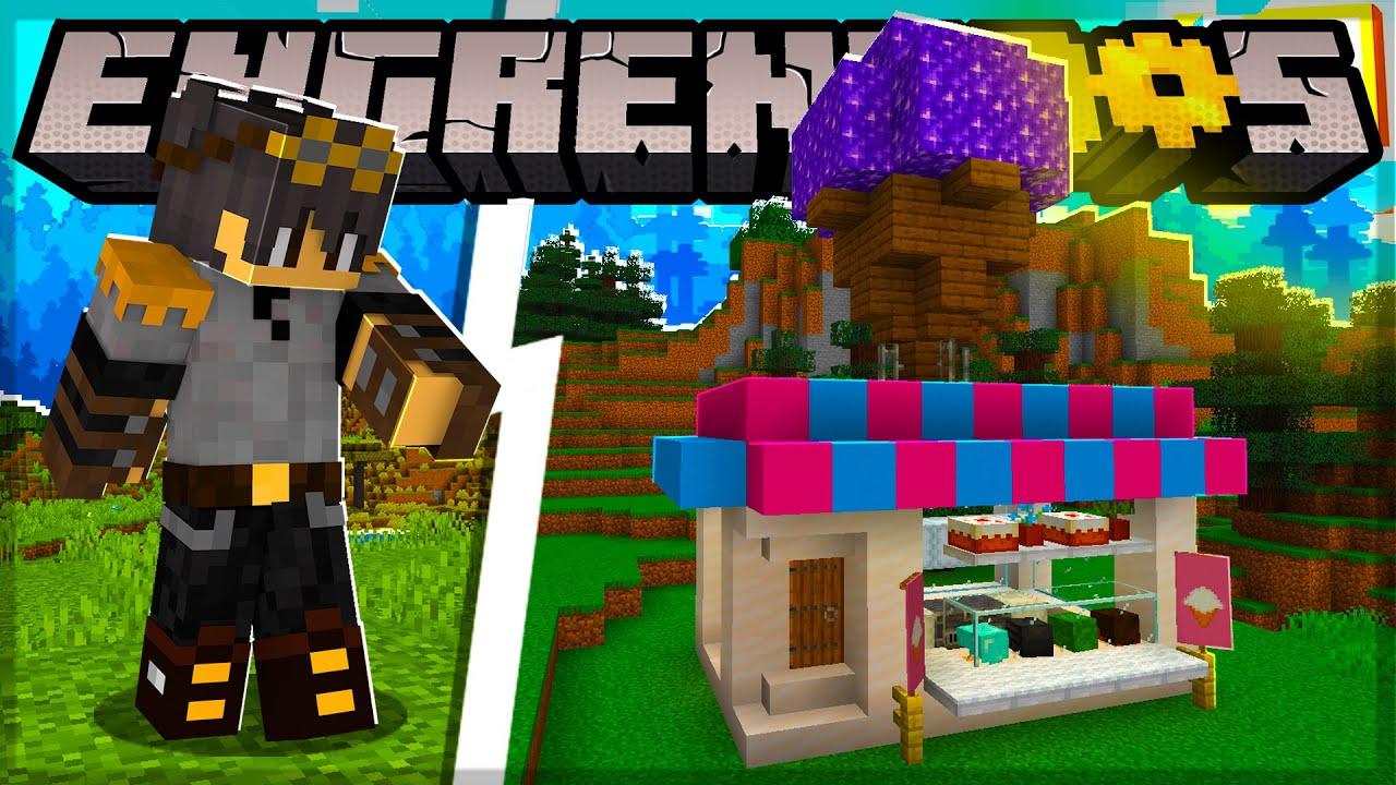 Fiz uma SORVETERIA no Minecraft 1.17 - Engrenados #05