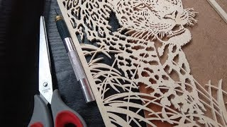 Background Making For Scroll Saw Project