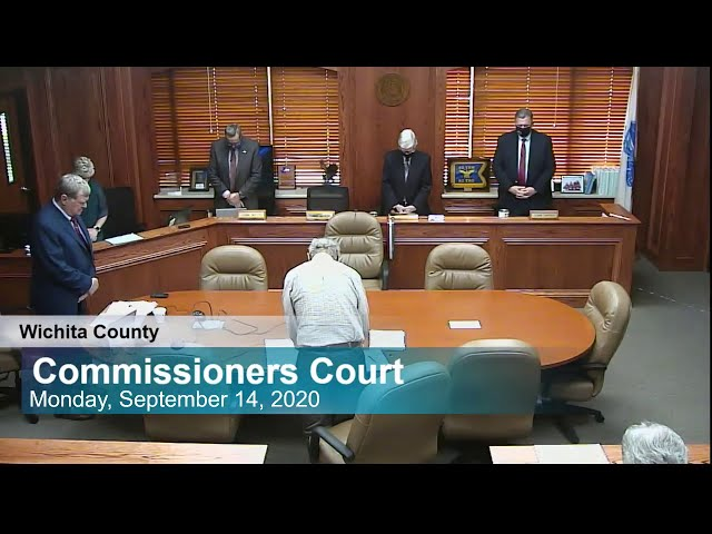 Commissioners Court 09/14/2020