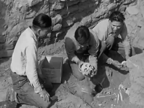 Footage Of Archaeology In 1930 At Mesa Verde