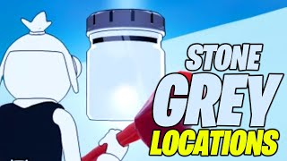 Find bottles of Stone Grey on Mount F8 (ALL 3 LOCATIONS) - Fortnite