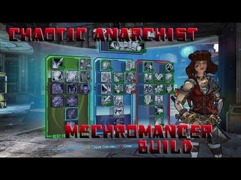 Borderlands 2 Level 61 Mechromancer Build *Chaotic Anarchist*