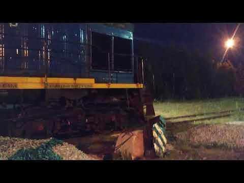 Взрыв сигнальной железнодорожной петарды