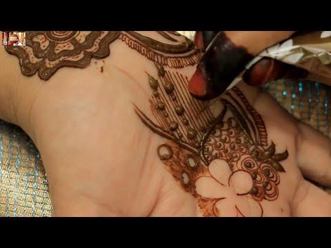New Stylish Easy Henna Mehndi Design For Hands | Requested Mehendi Design Upload