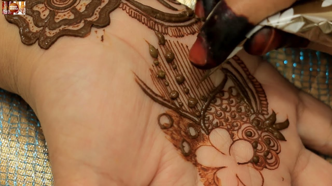 New Stylish Easy Henna Mehndi Design For Hands Requested Mehendi