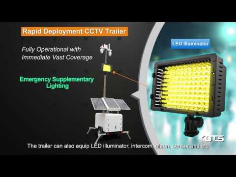 OT Systems - Rapid Deployment CCTV Trailer