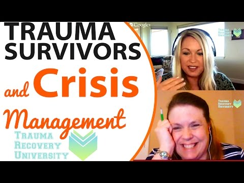 For Child Abuse Survivors: Crisis Management Plans