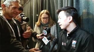8Asians: U.S. Figure Skating Press Conf.: Vincent Zhou ; Response To Racist Tweet