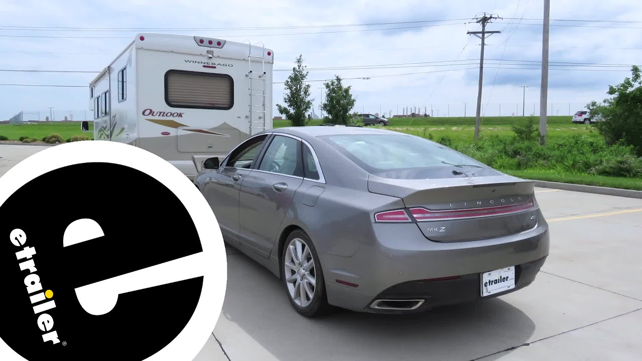 SMI Stay-IN-Play DUO Braking System Installation - 2016 Lincoln MKZ -  etrailer com