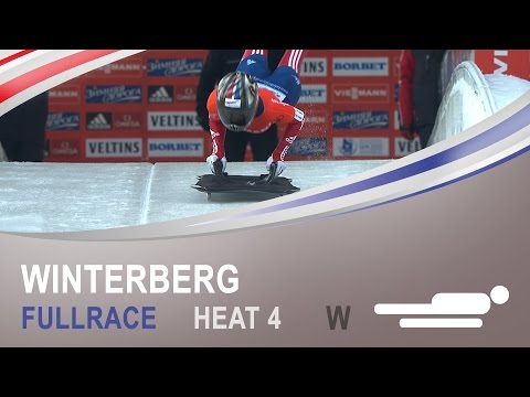Winterberg | Women's Skeleton Heat 4 World Championships 2015 | FIBT Official