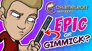 EPIC or GIMMICK? - Trying Chameleon Markers and Pencils!