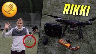 Kuinka rikkoa 200€ Drone... 🚁🚁
