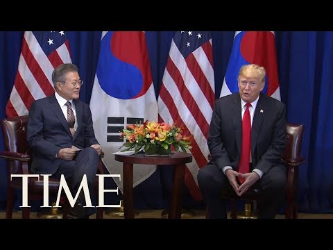 Donald Trump Calls Leader Of North Korea 'Terrific' While Meeting With South Korean President | TIME
