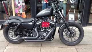 2012 CUSTOM SPORTSTER IRON XL883N VANCE & HINES @ West Coast Harley-Davidson, Glasgow, Scotland