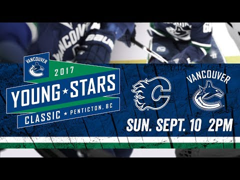Vancouver Canucks vs Calgary Flames - Young Stars (Sept. 10, 2017)