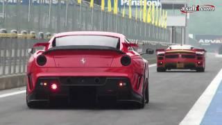 F1、FXX 、599XXが富士を疾走 フェラーリフェスティバル2010 thumbnail