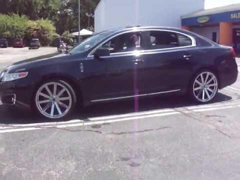 Rimtyme Hampton 2009 Lincoln Mks On 22 Quot Strada Raggio