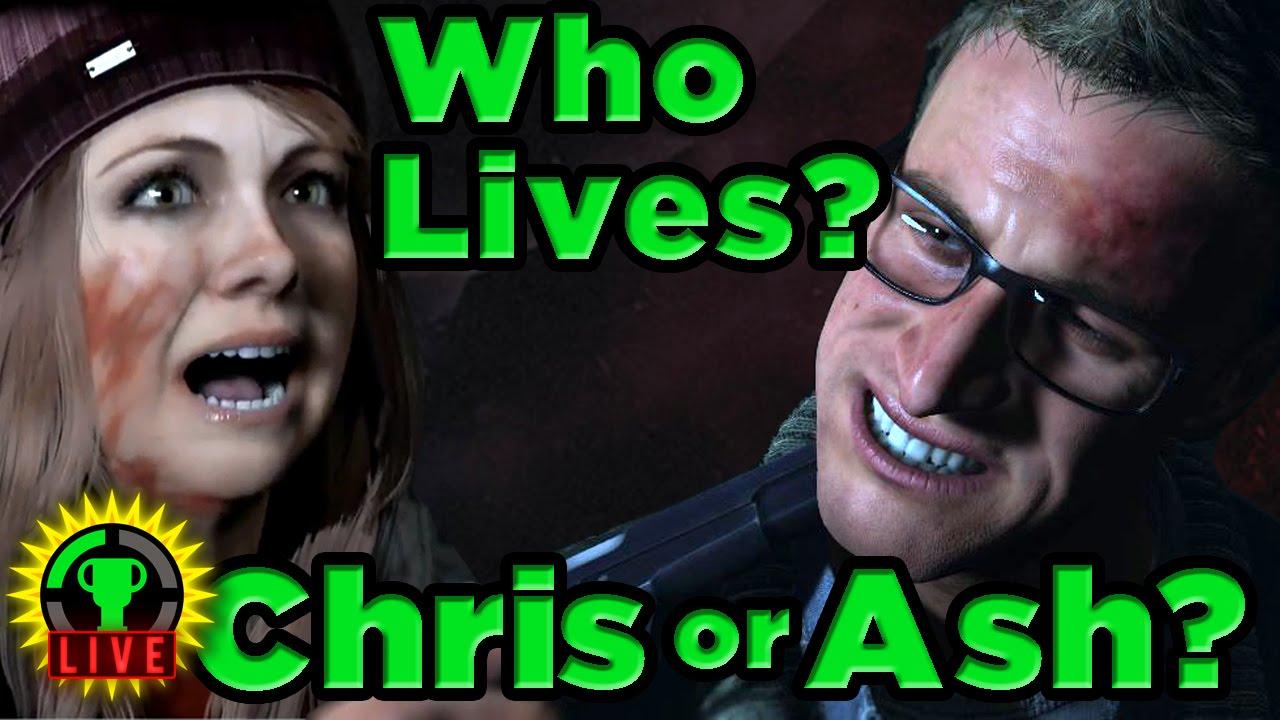 GT Live: Until Dawn - Who Lives, Chris or Ashley? - GT Live: Until Dawn - Who Lives, Chris or Ashley?