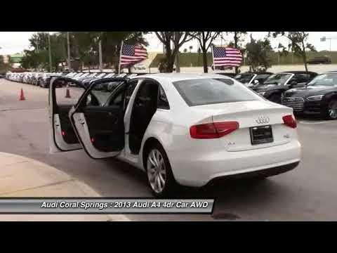 Audi A Coral Springs FL TDDN YouTube - Coral springs audi