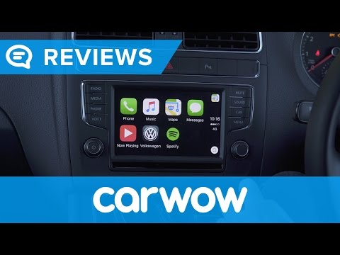 Volkswagen Polo 2016 Composition Media System infotainment and interior review | Mat Watson Reviews