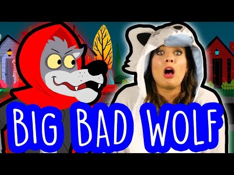 Best of the Big Bad Wolf - Little Red Riding Hood, Three Little Pigs, Pinocchio & More | Cool School