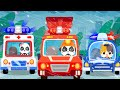 Baby Rescue Squad - Ambulance, Police Car, Fire Truck 🚑🚒🚓   Nursery Rhymes   Kids Songs   BabyBus