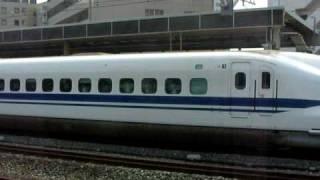 【700系】ひかり461号岡山行き 発車