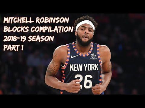 Mitchell Robinson gets NBA honor before Knicks' uncertain offseason