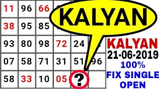 kalyan 01/04/2019 Kalyan Today single jodi,कल्यान