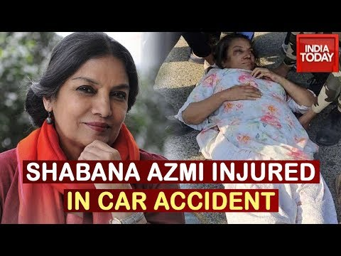 Shabana Azmi Injured In Car Accident On Mumbai-Pune Expressway