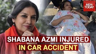 Shabana Azmi Injured In Car Accident On Mumbai-Pune Expressway