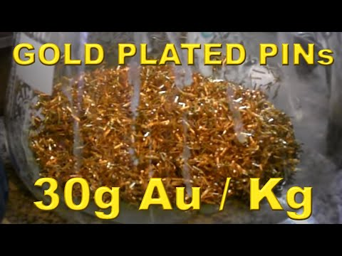 VERY high yield GOLD plated pins