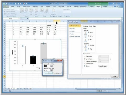 Making Publication-quality graphs in Excel - YouTube