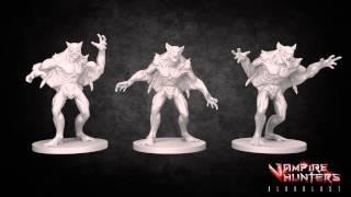 Vampire Hunters the Board Game: Vampires