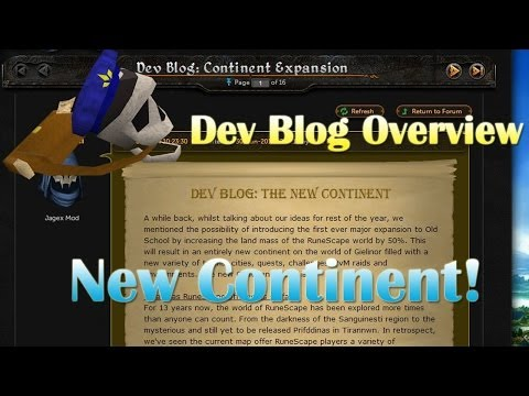New Continent!! Dev Blog Overview