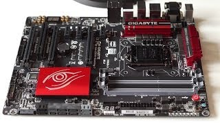 Gigabyte Z97X G1 Gaming 7 Motherboard Unboxing and First Look
