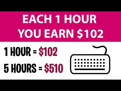 Earn $102 PER HOUR From Home LEGIT DATA ENTRY JOBS [Make Money Online]