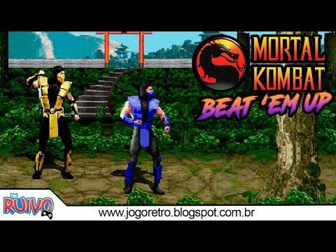 Mortal Kombat Em Beat Em UP - OpenBOR 2018