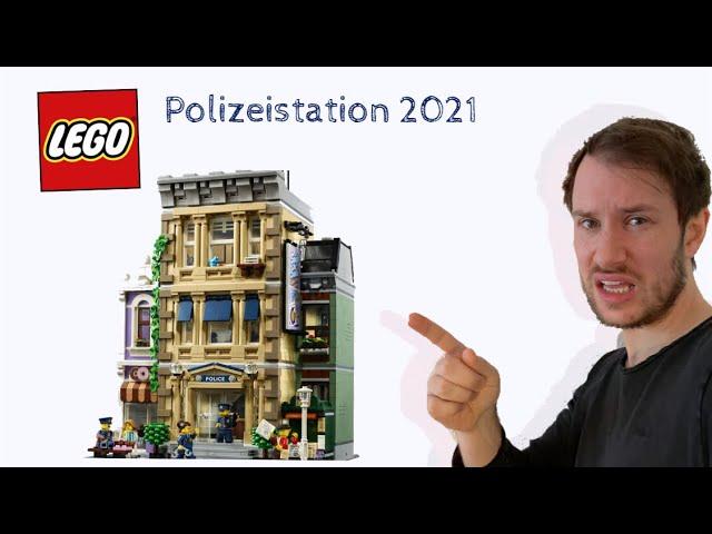 LEGO® 10278 Polizeistation - Vorstellung und Meinung