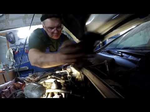 Mercedes-Benz CLA C117 замена термостата(thermostat replacement)