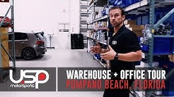 Warehouse + Office Tour | Pompano Beach, FL | USP Motorsports