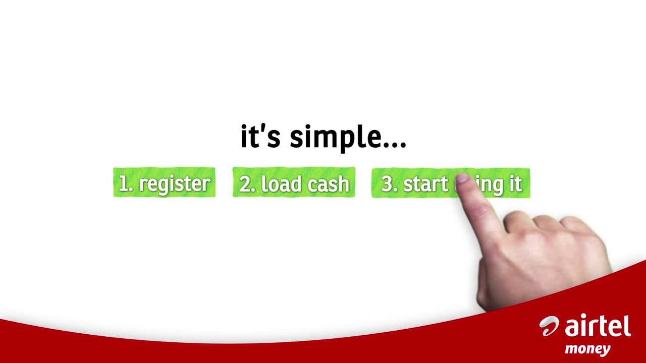 How to register for Airtel Money!