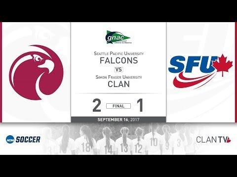 SFU Clan Women's Soccer vs. SPU - September 16, 2017