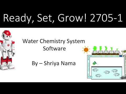 2705-1 Water Chemistry System Software